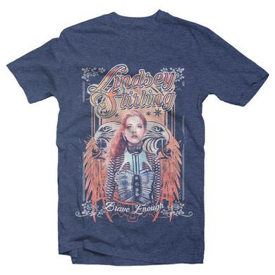 Lindsey Stirling VINTAGE TEE NAVY HEATHER