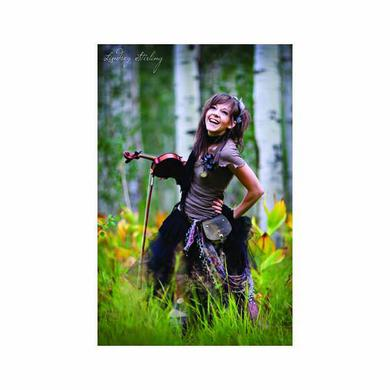 Lindsey Stirling Laughing Poster