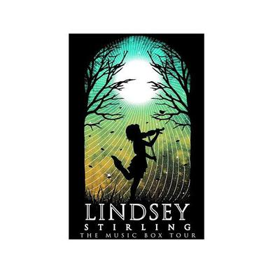 Lindsey Stirling 2015 Music Box Tour Poster