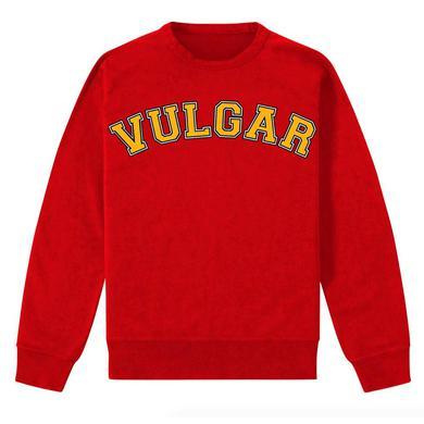 Morrissey VULGAR PULLOVER RED SWEATSHIRT