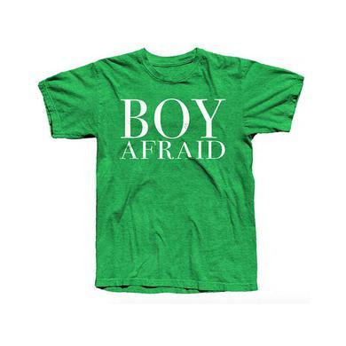 Morrissey BOY AFRAID T-SHIRT HEATHER IRISH GREEN