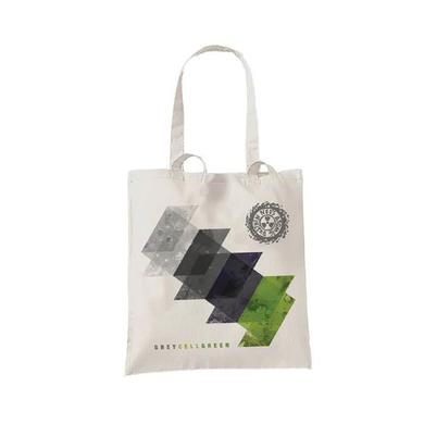 Ned's Atomic Dustbin Grey Cell Green Tote Bag