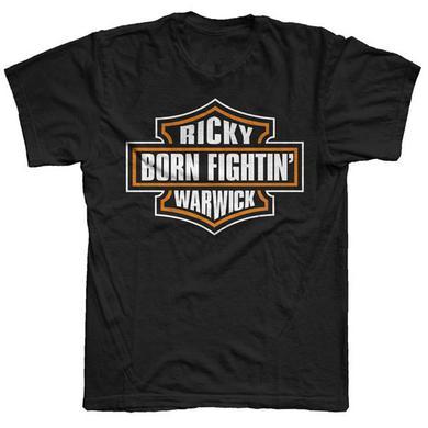 Ricky Warwick Born Fighting Kids T-Shirt