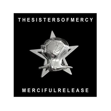 Sisters Of Mercy MERCIFUL RELEASE CAST BADGE