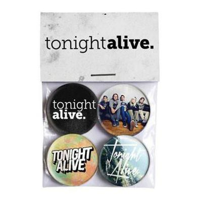 Tonight Alive Badge Pack