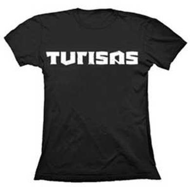 Turisas Black White Logo Ladies T-Shirt