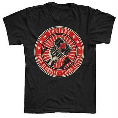Turisas Black Tour Globally T-Shirt