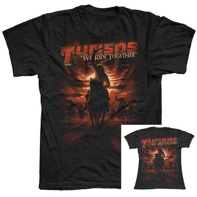 Turisas Black We Ride Together Mens & Womens T-Shirt