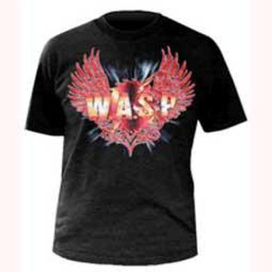 W.A.S.P Black Wings Logo Idol Tour 07/08 T-Shirt