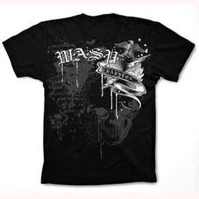 W.A.S.P Black Skull July 2011 Tour T-Shirt
