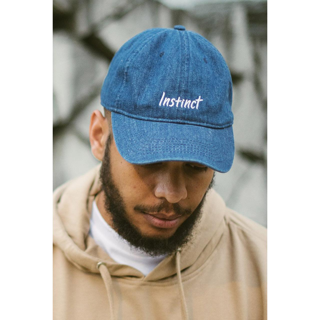 Monstercat Instinct Vol. 1 Relaxed Denim Strapback Hat ef9b8857bab