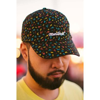 Monstercat Electric Confetti Relaxed Strapback Hat