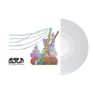Gulp All Good Wishes Signed Colour LP LP (Vinyl)