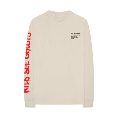 Kanye West KIDS SEE GHOSTS LONG SLEEVE T-SHIRT + KSG ALBUM