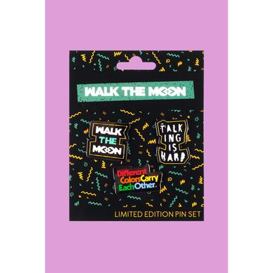 Walk The Moon Button Pack (Set Of 3)