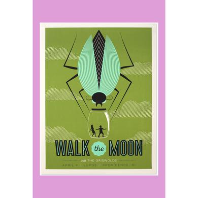 Walk The Moon Providence, RI (4/9/2015) Poster