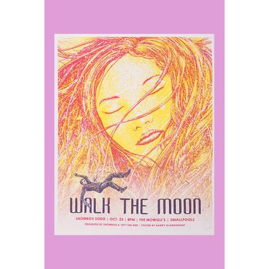 Walk The Moon Showbox Sodo (10/23/2013) Poster