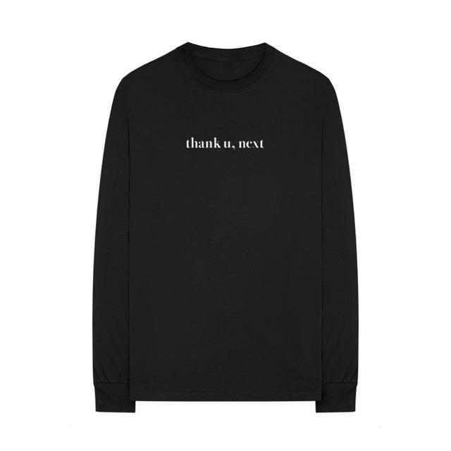 Ariana Grande thank u, next long sleeve t-shirt + digital album