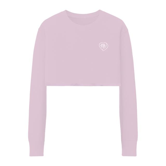 Ariana Grande break up with your gf cropped crewneck + digital album