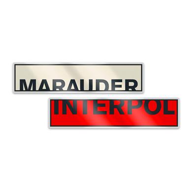 Interpol Marauder Badges