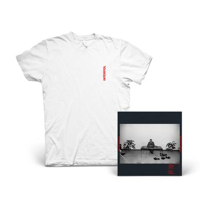 Interpol Marauder Album + T-Shirt