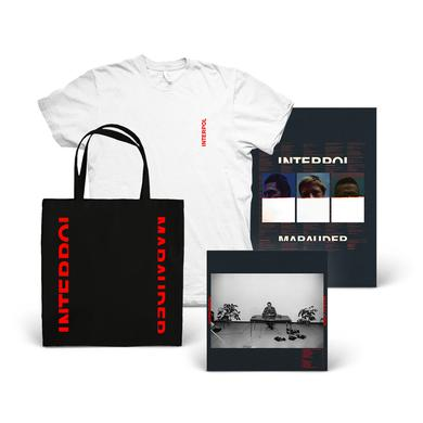 Interpol Marauder Album + T-Shirt + Tote + Poster