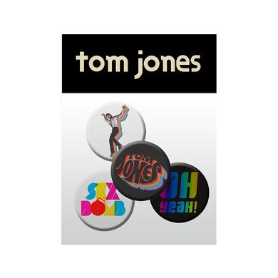 TOM JONES BADGE SET