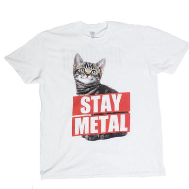 Miss May I Stay Metal Tee (White)