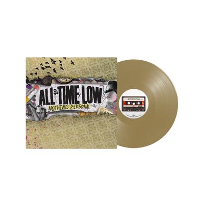 "All Time Low Nothing Personal 12"" Vinyl (Gold)"