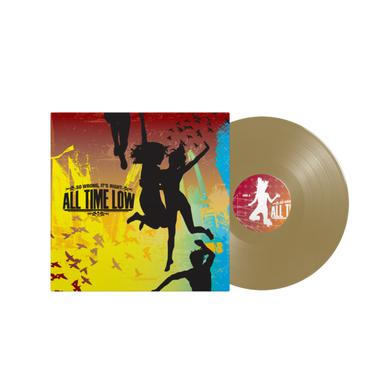 "All Time Low So Wrong, It's Right 12"" Vinyl (Gold)"