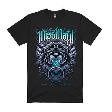 Miss May I 10 Years Of Metal Tee (Black)