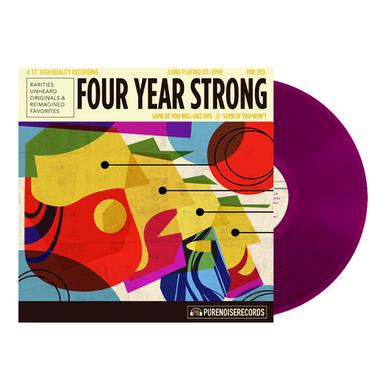 """Four Year Strong Some of You Will Like This, Some of You Won't 12"""" Vinyl (Deep Purple)"""
