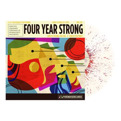 """Four Year Strong Some of You Will Like This, Some of You Won't 12"""" Vinyl (Bone w/ Heavy Purple)"""