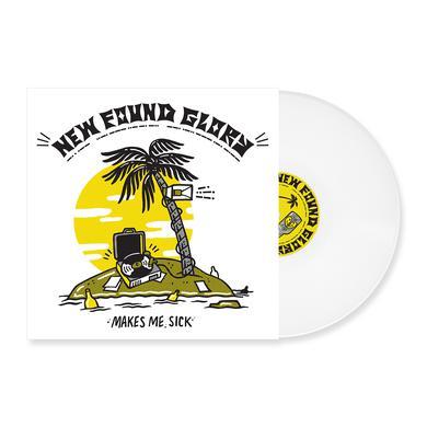 """New Found Glory Makes Me Sick 12"""" Vinyl (White)"""