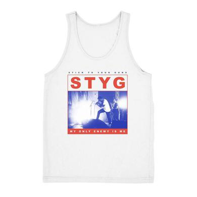Stick To Your Guns My Only Enemy Tank (White)