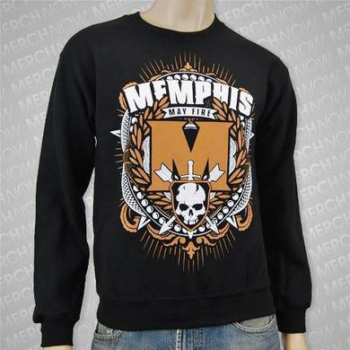 Memphis May Fire Skulls & Arrows Crewneck (Black)