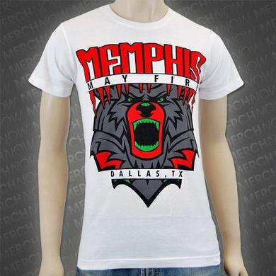 Memphis May Fire Dallas, TX Tee (White)