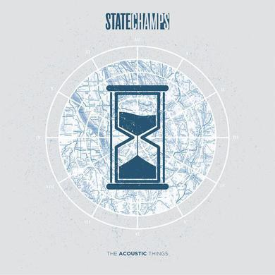"State Champs The Acoustic Things 12"" Vinyl (Blue w/ Pink)"
