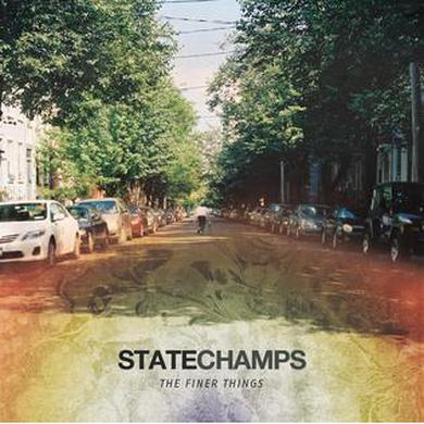 "State Champs The Finer Things 12"" VInyl (Electric Blue)"