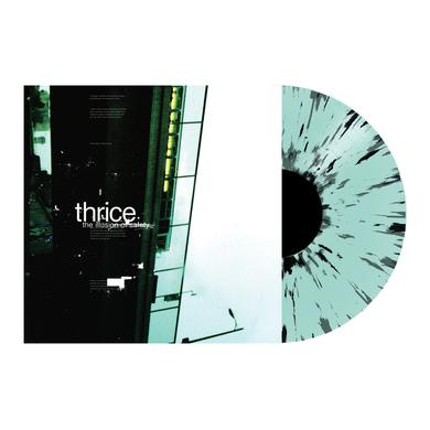 "Thrice Illusion Of Safety 12"" Vinyl (Coke Bottle Clear w/ Heavy Black Splatter)"