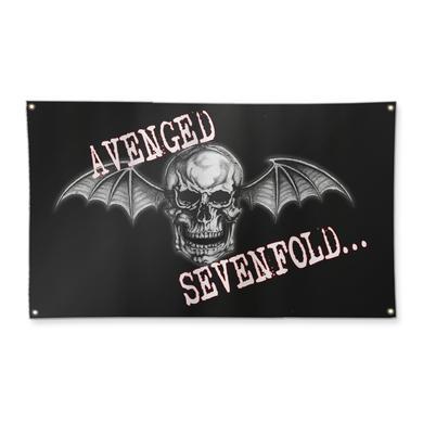 Avenged Sevenfold Deathbat Flag