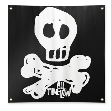 All Time Low Skully Flag