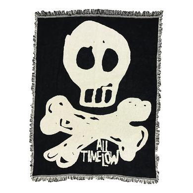 All Time Low Skully Blanket