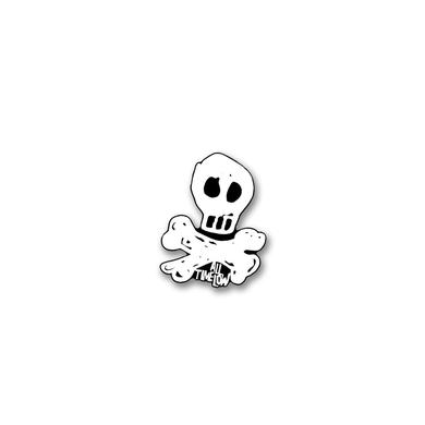 All Time Low Skully Pin