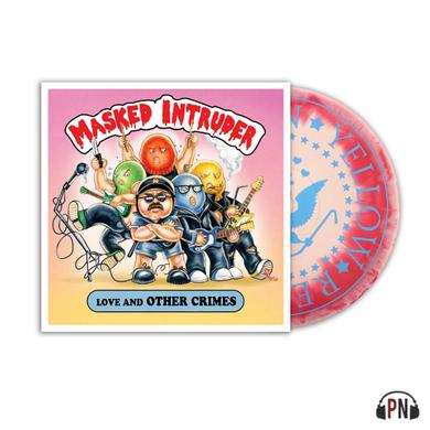 """Masked Intruder Love And Other Crimes (12"""" Hot Pink/Baby Pink Smash Vinyl)"""