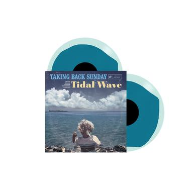 "Taking Back Sunday Tidal Wave (12"" Turquoise Swirl)"