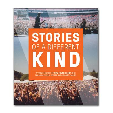 New Found Glory Stories Of A Different Kind (Book)