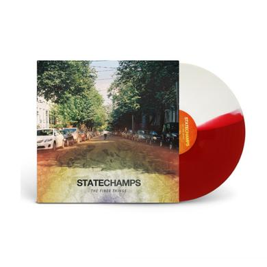 "State Champs The Finer Things (12"" Half White/Half Red Vinyl)"