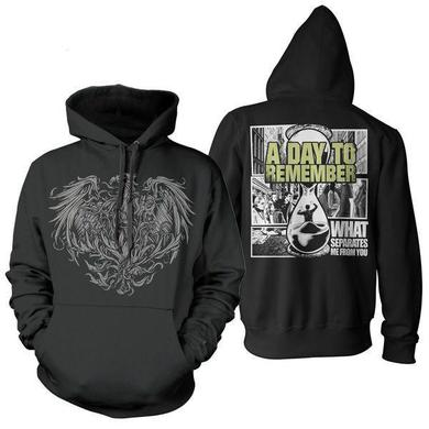 A Day To Remember Golden Eagle Hoodie (Black)