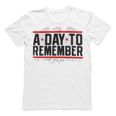 A Day To Remember Hardcore (White Tee)